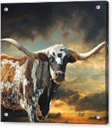 West Of El Segundo Acrylic Print by Robert Anschutz