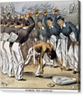 West Point Cartoon, 1880 Acrylic Print
