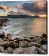 West Shore Sunset Acrylic Print