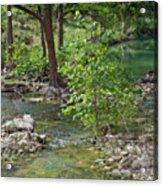 West Sister Creek Acrylic Print