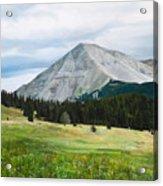 West Spanish Peak In Summer Acrylic Print