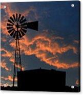 West Texas Cattle Tank Acrylic Print