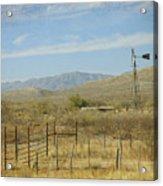 West Texas Ranch Scene II Acrylic Print