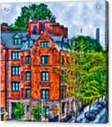 West Village By The High Line Acrylic Print