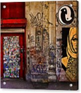 West Village Wall Nyc Acrylic Print