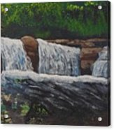 West Virgina Water Falls Acrylic Print