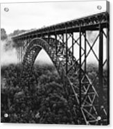 West Virginia - New River Gorge Bridge Acrylic Print by Brendan Reals