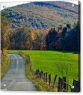 West Virginia Autum On Sandy Ridge Acrylic Print