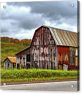 West Virginia Barn Acrylic Print