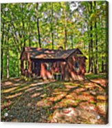 West Virginia Cabin Acrylic Print