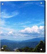 West Virginia Calling Me Home Acrylic Print