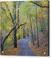 West Virginia Fall Scene Acrylic Print