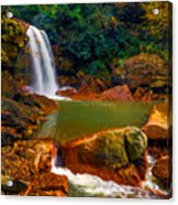 West Virginia Falls Acrylic Print