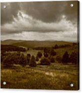 West Virginia Overcast Acrylic Print