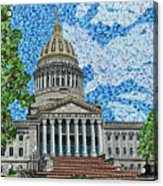 West Virginia State Capitol Acrylic Print
