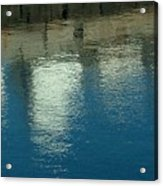 West Wharf Reflections I Acrylic Print