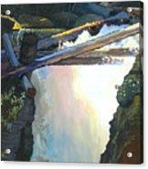 West Yaak Falls Acrylic Print