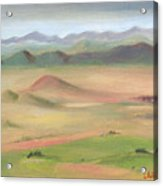Westcliffe Valley II Acrylic Print