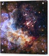 Westerlund 2 - Hubble 25th Anniversary Image Acrylic Print