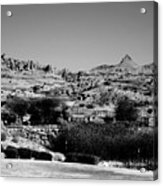 Western Arizona Mountains Acrylic Print