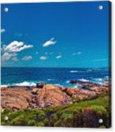 Western Australia Beach Panorama Margaret River Acrylic Print