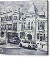 Western Avenue In Muskegon, Michigan Acrylic Print