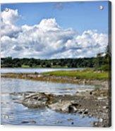 Western Bay - Oldhouse Cove Near Trenton Maine Acrylic Print