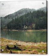 Western Cascades River Acrylic Print
