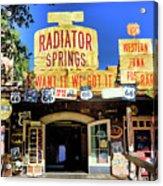 Western Junk Shop California Adventure  Acrylic Print