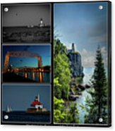 Western Lake Superior Acrylic Print