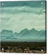 Western Mountains Acrylic Print