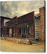 Western Town - Paramount Ranch Acrylic Print