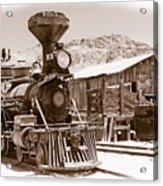 Western Train Acrylic Print