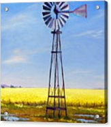 Western Windmill Acrylic Print
