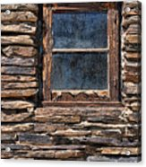 Western Window Acrylic Print