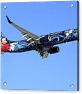 Westjet Disney Magic B-737-800 Acrylic Print