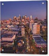 Westlake Los Angeles Aerial Acrylic Print
