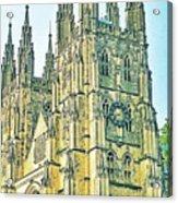 Westminster Abbey Postcard Acrylic Print