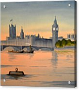 Westminster And Big Ben  Acrylic Print