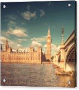 Westminster Big Ben Acrylic Print
