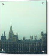 Westminster Fog Acrylic Print