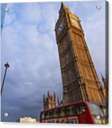Westminster Station Acrylic Print