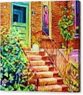 Westmount Home Acrylic Print