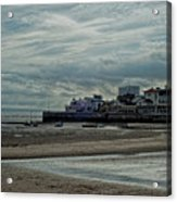Weston - Super -mare  -  Outflow - Hdr Acrylic Print