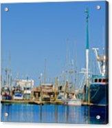 Westport Docks Color Acrylic Print