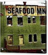 Westport Washington Seafood Market Acrylic Print