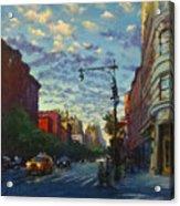 Westside Sunset No. 4 Acrylic Print