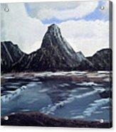 Wet Mountains Acrylic Print