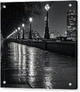Wet Pathway Acrylic Print