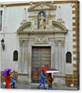 Wet People Door Cadiz Acrylic Print
